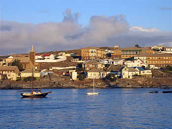 Webcam For The Port Of Luderitz